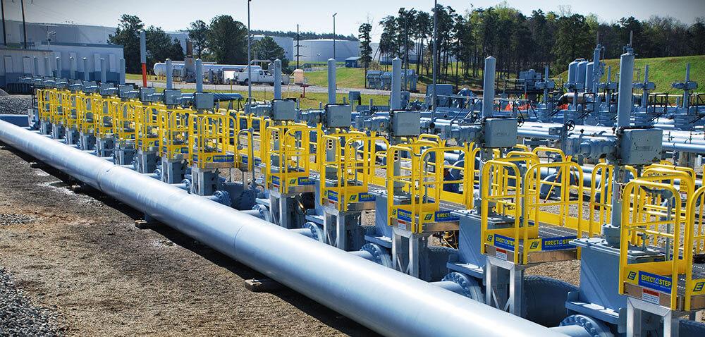 Industrial Work Platforms Ladders bridging the gap