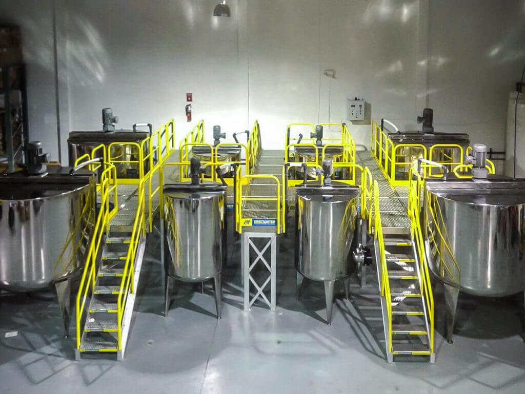 Raised Equipment Access Platform