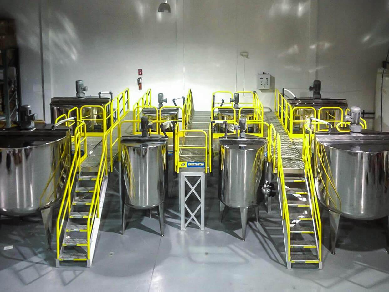 Raised Equipment Access Platform Safety Codes 911616