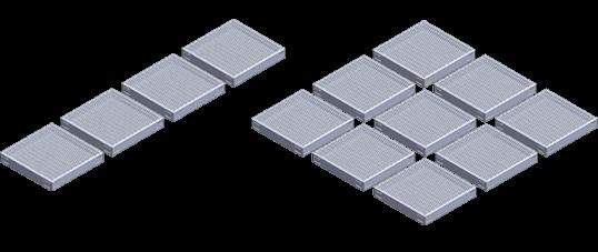 Aluminum Work Platform Configurations