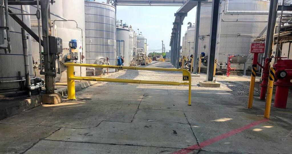 OSHA Compliant Barrier gate