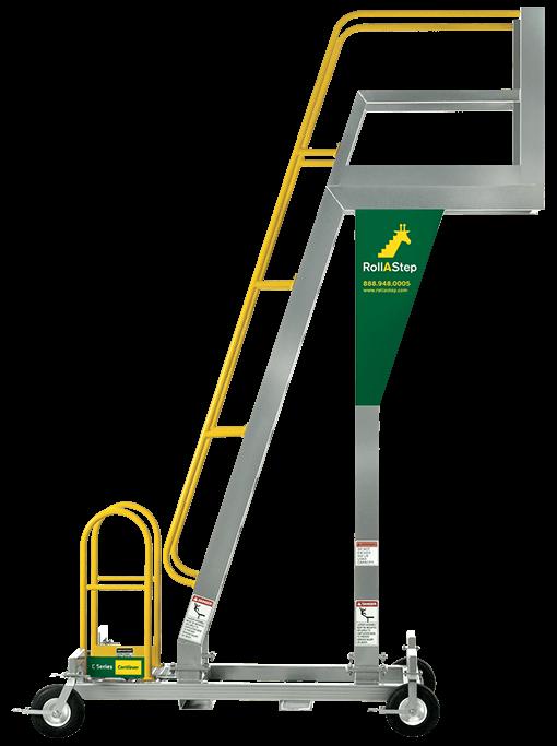 Erectastep C Series Mobile Cantilever Work Platform And