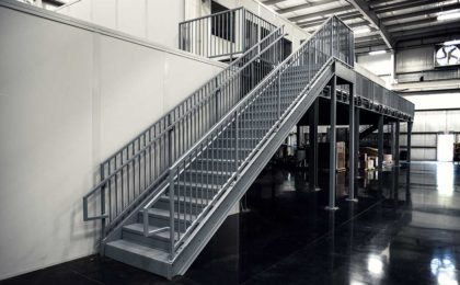 Prefabricated Metal Stairs Aluminum Steps Amp Work