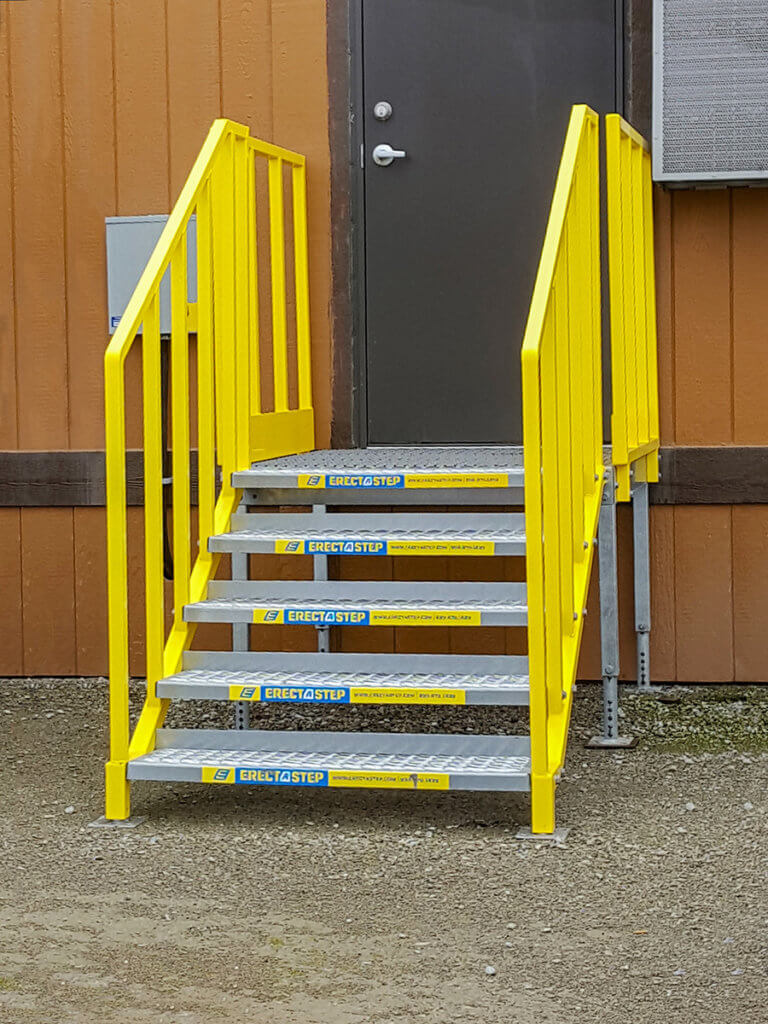 OSHA compliant Portable Stairs 5 step direct access