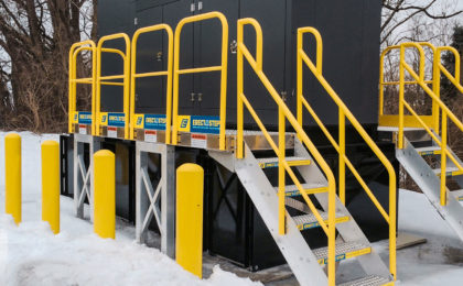 ErectaStep Mechanical Platform Maintenance Access