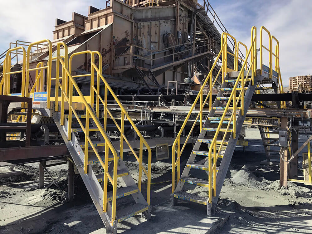 ErectaStep Metal Stair Crossover