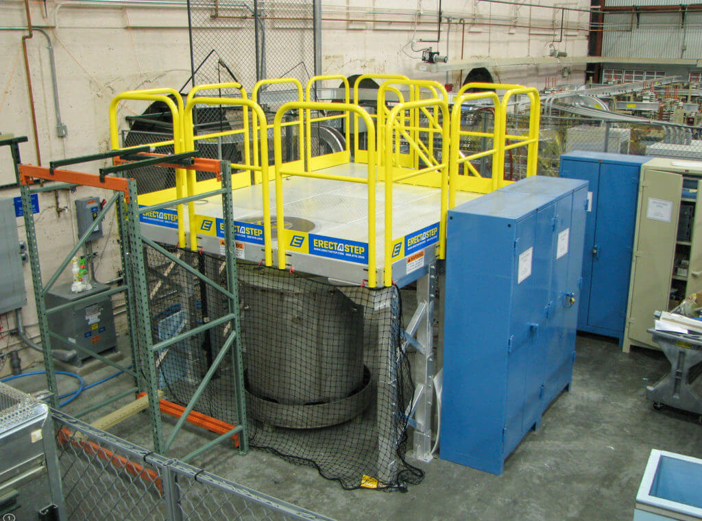 Erectastep Maintenace Work Platform Access