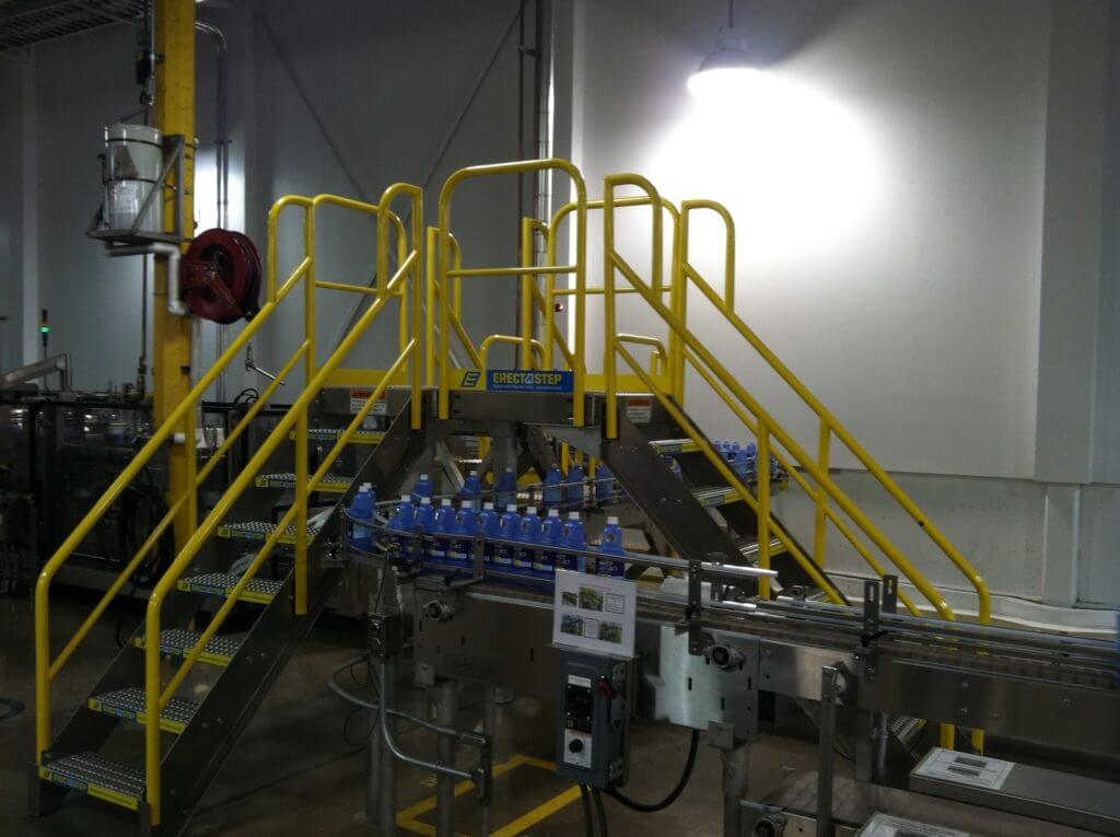 Erectastep Industrial Crossover Stairs