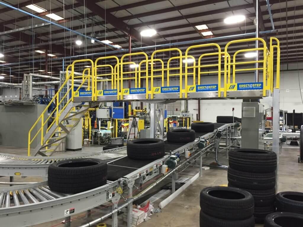 Metal Industrial Crossover Platform