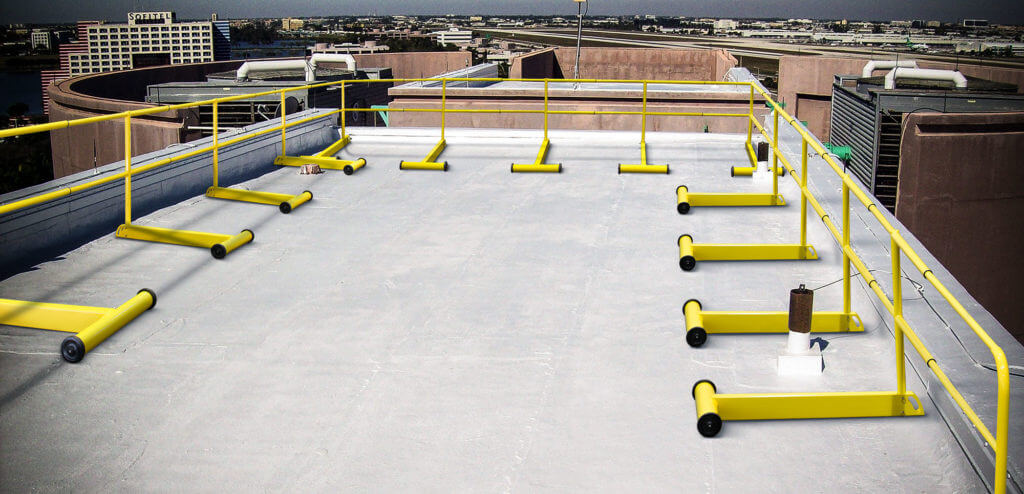 rooftop fall protection systems