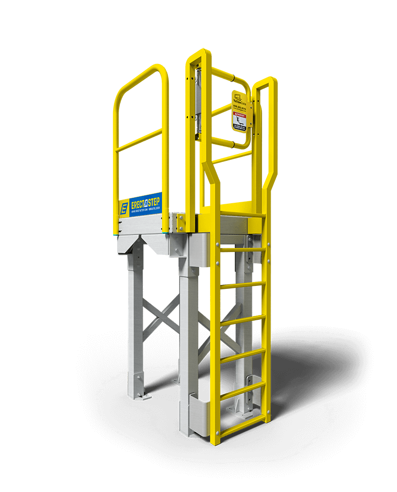 Industrial 6 Step Ladder Platform