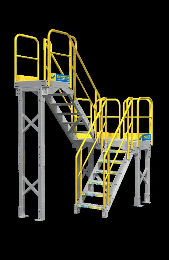 Mezzanine Access Platform Tallcrop Erectastep