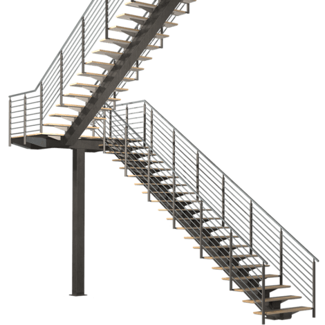 Architectural stairs prefabricated designer stairs ready for Ready made stairs