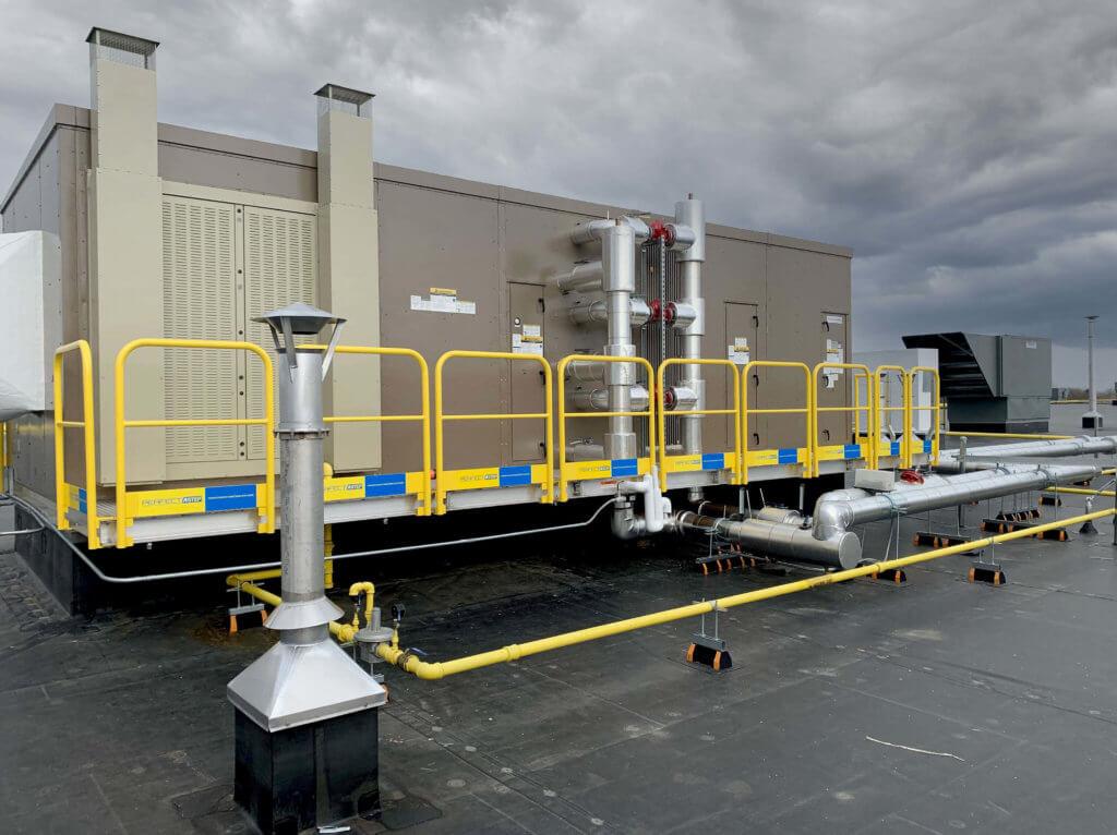 ErectaStep RTU access platform installation