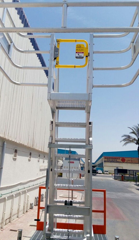 YellowGate on Safearack MAUI truck access unit
