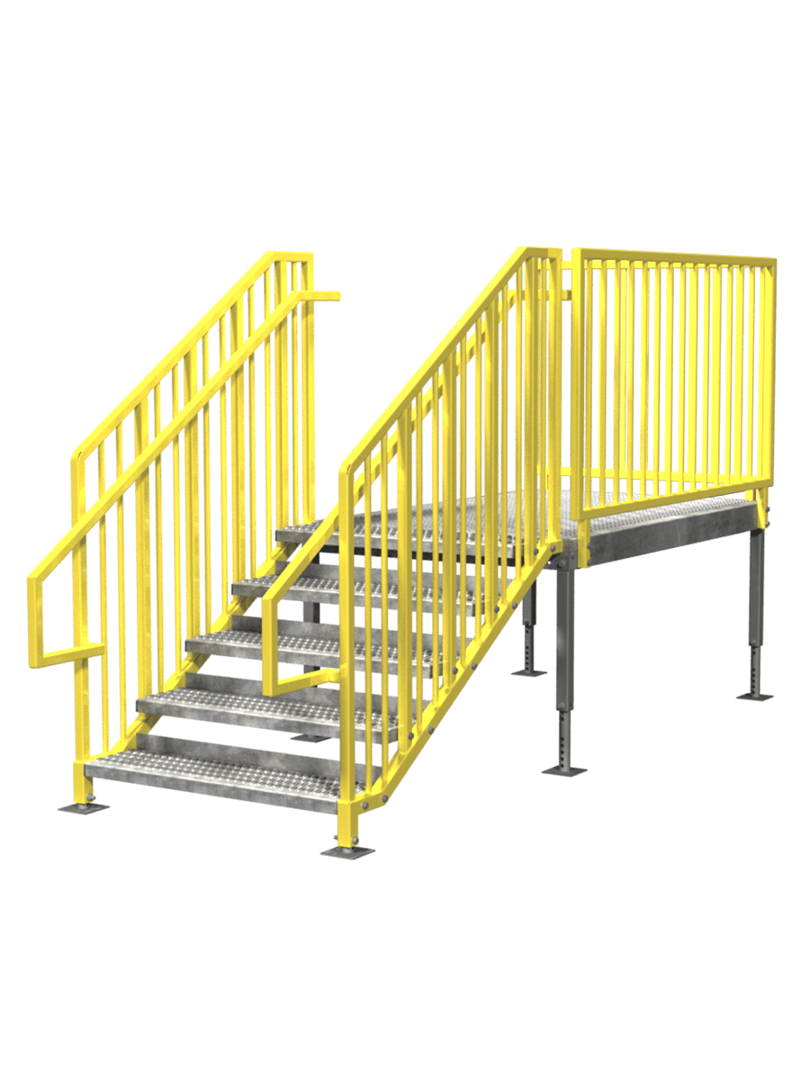 Portable Stairs U2013 Left Entry