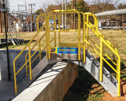 Outdoor Crossover Stairs