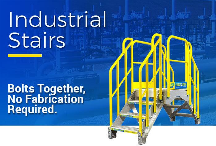 Prefabricated Metal Stairs, Steps & Work Platforms - ErectaStep
