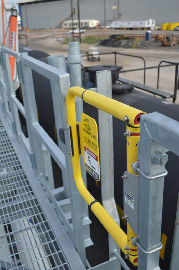 Metal Ladder Safety Gate