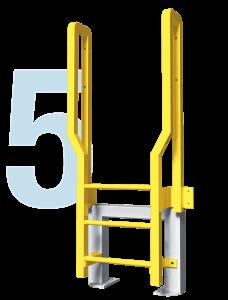 Metal Ladder Icon