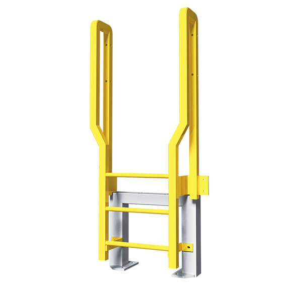 Metal Ladders Allow Workers Safe Access That Re Unfit For