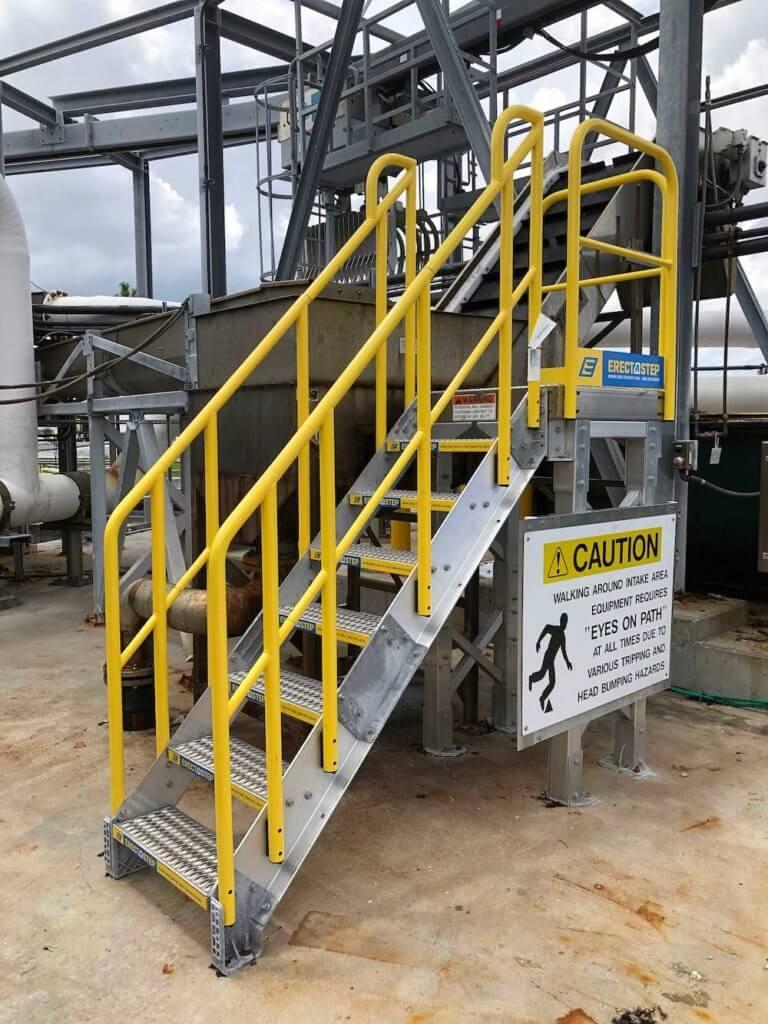 Metal Stair Platform