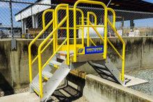 Prefabricated Metal Stairs Steps Amp Work Platforms