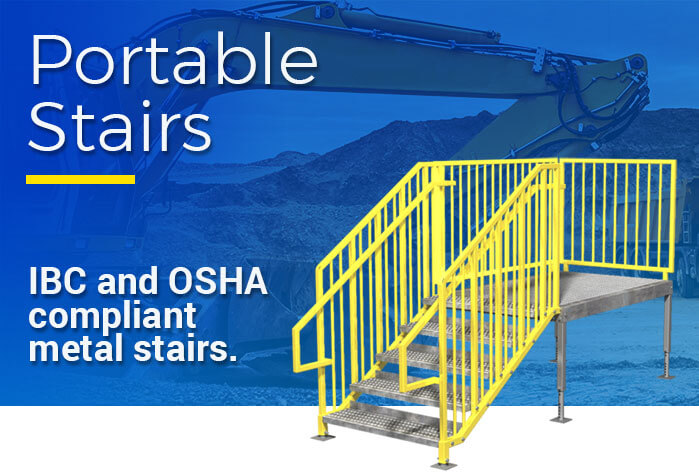Prefabricated Metal Stairs Steps Amp Work Platforms
