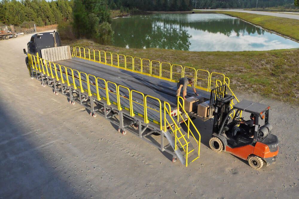 Rolling Platform For Flatbed Trucks Erectastep