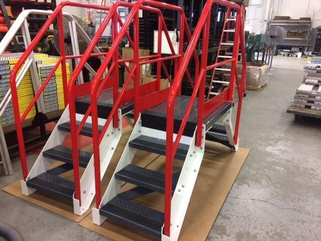Conveyor Crossovers in Factory
