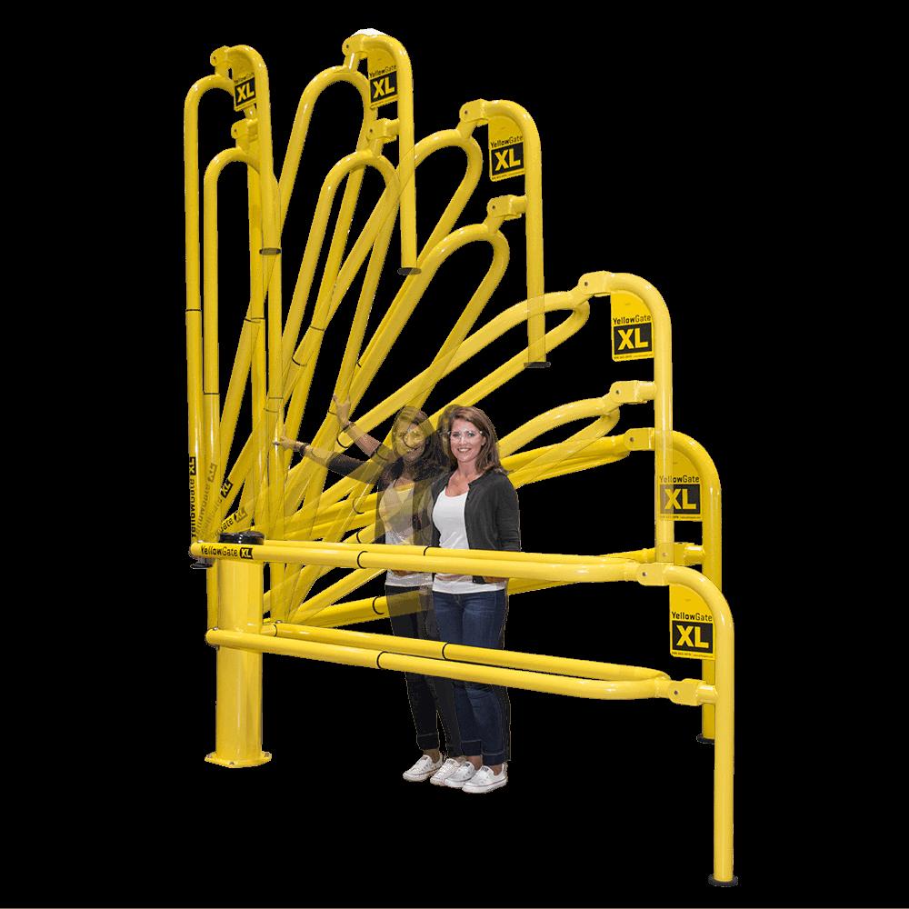 YellowGate Loading Dock Safety Gate