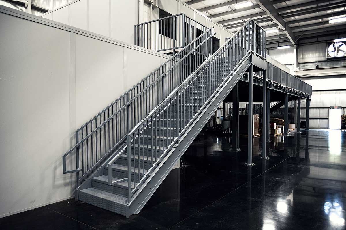 Commercial Metal Stairs Erectastep