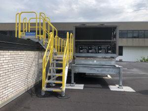 HVAC Stair Units