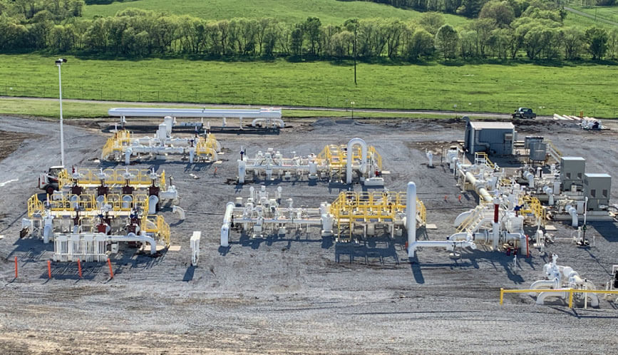 ErectaStep Metal Stair Catwalk installation for Pipeline