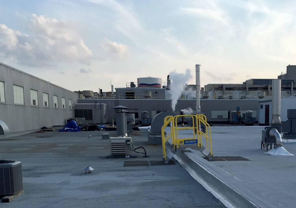 Roof Access Metal Stairs for Campbell Soup