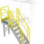 HVAC Access Stairs