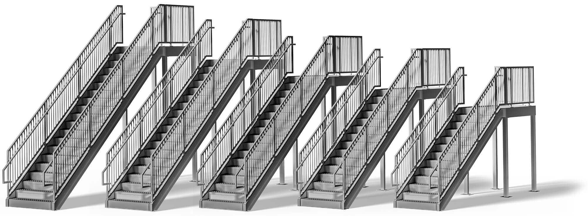 Commercial Stair Sizes