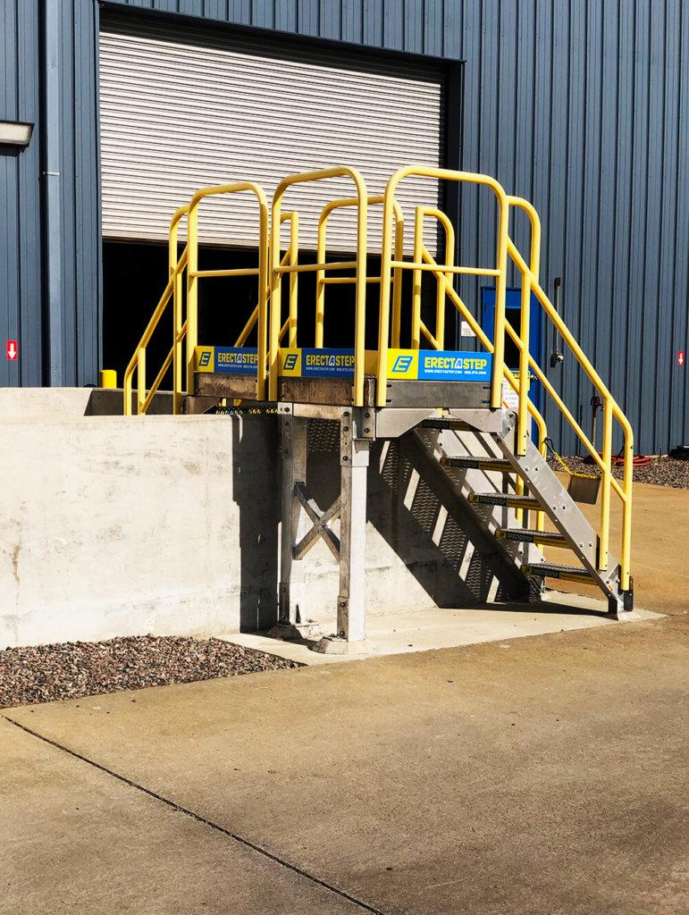 ErectaStep Industrial Crossover Platform