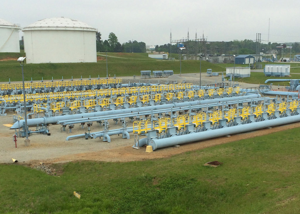Erectastep at Colonial Pipe field access platforms