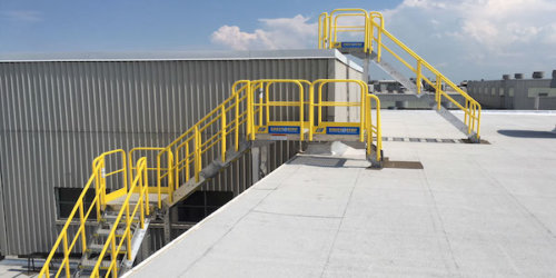 Roof Access Ladders And Stairs