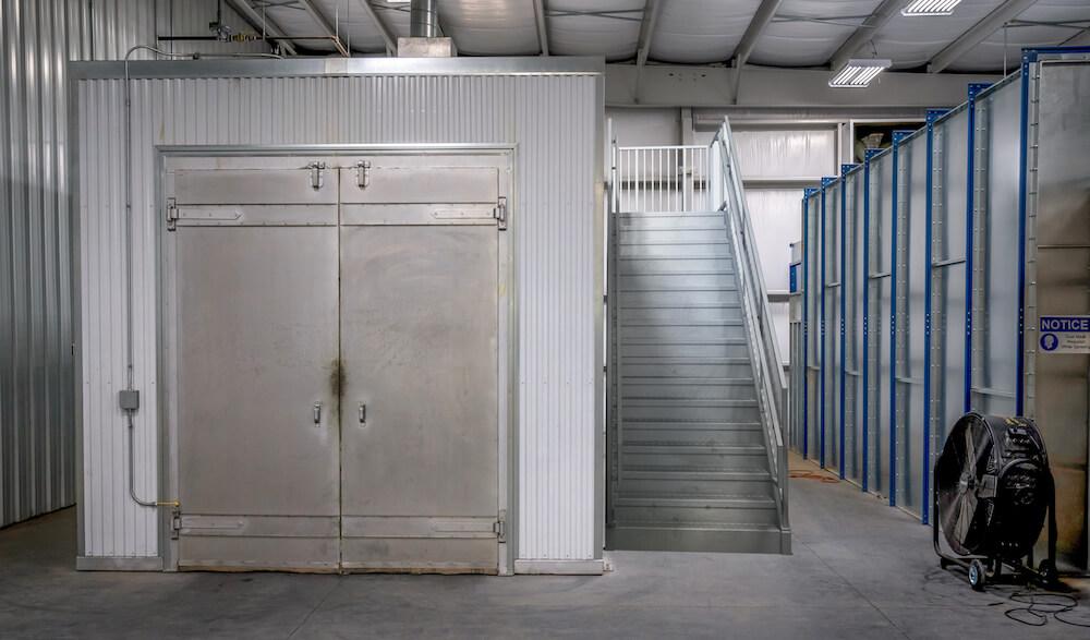 ErectaStep Mezzanine Stair Installation