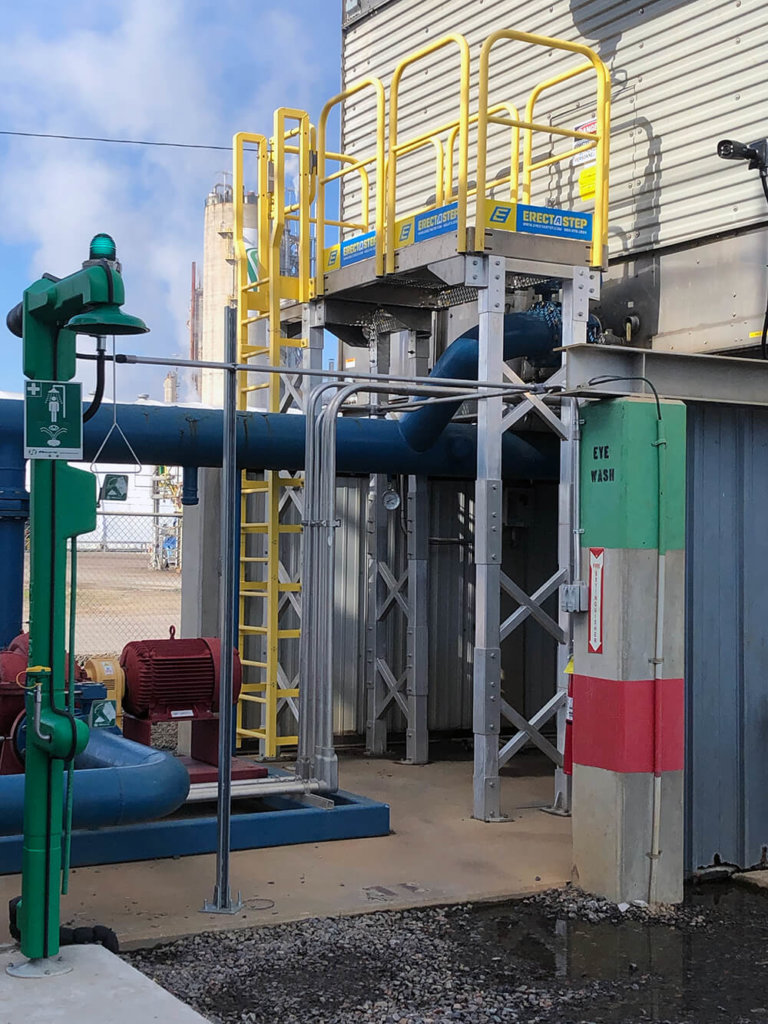 ErectaStep Ladder And Work Platform