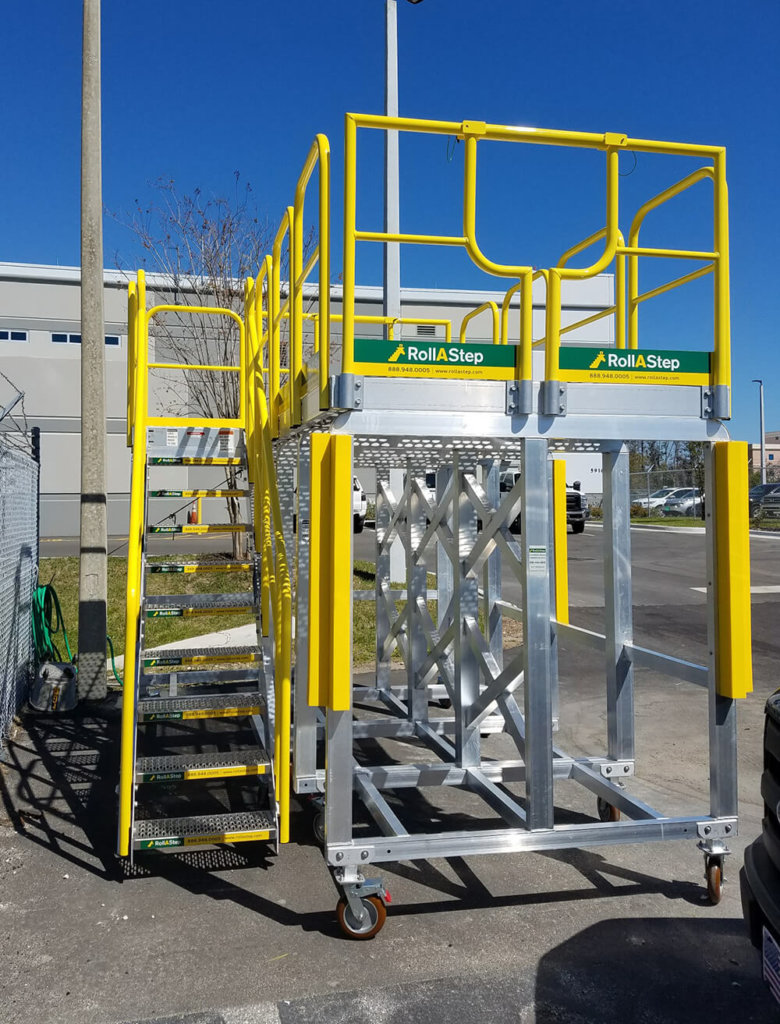 RollaStep MP Series Mobile Platform