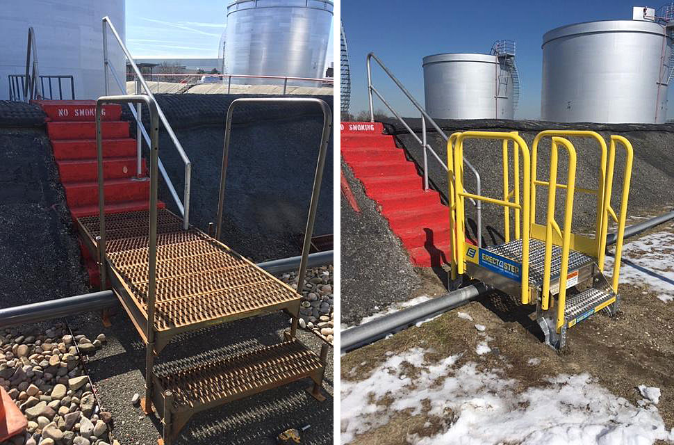 Metal Stair Crossover