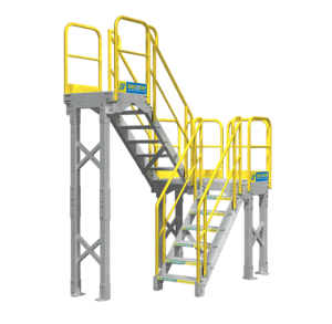 Mezzanine stair unit